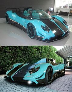 The Pagani Zonda Uno - Only one in the world, went to someone in China.