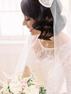 Wedding Dress: Rosa Clara - http://www.rosaclara.es/en/ Photography: Abby Jiu Photography - http://www.stylemepretty.com/portfolio/abby-jiu-photography   Read More on SMP: http://www.stylemepretty.com/2015/08/10/classic-romantic-washington-d-c-spring-wedding/