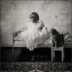 Russian Photographer Andy Prokh's Favorite Thing To Photograph Is His Daughter And Her Cat