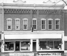 Spangler Candy location in 1910 by Spangler Candy - The Dum Dums Company, via Flickr