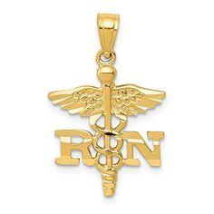 TGDJ 14k Tri-Color Gold Religious Baptism Pendant with 1.5mm Valentino Diamond Cut Chain Necklace
