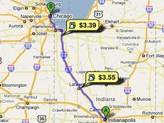 Find the lowest gas prices along the way. | 29 Simple Road Trip Hacks You Need To Know