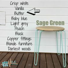 Sage green goes with...