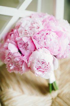 Pink Peony Bouquet | Jenny Moloney Photography | See the Elegant Nautical Styled Wedding on #SMP: http://www.stylemepretty.com/little-black-book-blog/2013/12/17/mashpee-massachusetts-wedding/