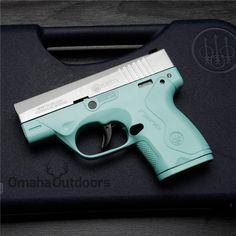 Beretta Nano Tiffany Blue Teal 9mm Gun NIB JMN9S15