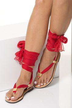 Sandalias de las mujeres abrigo alrededor de sandalias con Boho Sandals, Ankle Wrap Sandals, Greek Sandals, Lace Up Sandals, Gladiator Sandals, Leather Sandals, Sandals Wedding, Strappy Sandals, Flat Sandals