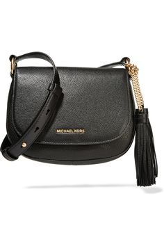 MICHAEL Michael Kors | Elyse medium textured-leather shoulder bag | NET-A-PORTER.COM