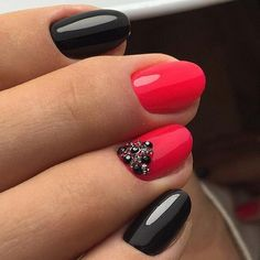 Are you looking for simple summer nails designs easy that are excellent for this summer? See our collection full of simple nails summer designs easy ideas and get inspired! Fancy Nails, Trendy Nails, Love Nails, Pink Nails, Glitter Nails, Gel Nails, Nail Polish, Pink Glitter, Pink Shellac