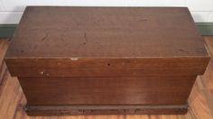 Victorian blanket chest trunk c.1880