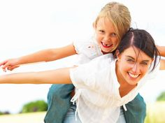 Happy Young Mother Piggybacking Her Daughter Stock Photos Les Allergies, My Children, Kids, Teenage Daughters, After Divorce, Happy Mom, What Can I Do, Single Parenting, Dating Tips