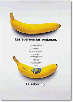 Publicidad Plátano de Canarias.