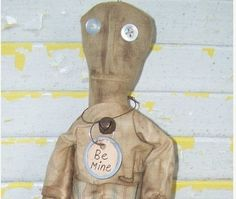 Primitive Miss Desperation by Rabbithollowprims on Etsy, $24.95