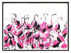 Flamingo Clique, 2014  | Jenna Snyder Phillips