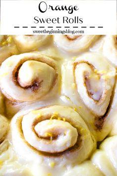 Donut Recipes, Brunch Recipes, Orange Sweet Rolls, Potato Chip Cookies, Breakfast Dessert, Breakfast Ideas, Christmas Morning Breakfast, Sprinkle Cookies, Puff Pastry Recipes