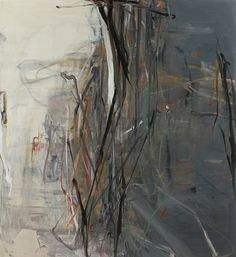 Grey Shield, 2014   Oil on Canvas  72 x 66 Inches