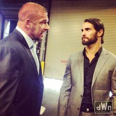 Triple h: yes Seth I understand that you want to hang out with Joy & her hot Friends Wwe Photos, Event Photos, Big E Langston, Wwe Seth Rollins, Burn It Down, Royal Rumble, Wrestling News, Triple H, Wwe Wrestlers