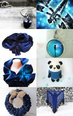 Dragonfly Blues by Semi Vintage on Etsy--Pinned with TreasuryPin.com