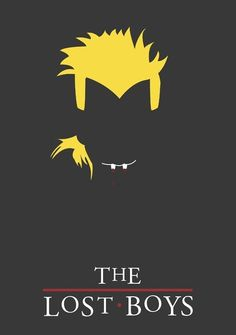 The Lost Boys - minimal movie | http://cinematicmovieposters.13faqs.com