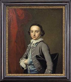 David Meade Jr. was painted by Thomas Hudson about 1752