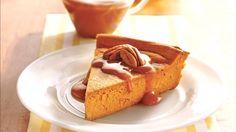 Sunday Dinner: dessert: Impossibly Easy Pumpkin Cheesecake uses canned pumpki. - Sunday Dinner: dessert: Impossibly Easy Pumpkin Cheesecake uses canned pumpkin, 1 pkg cream chee - Easy Pumpkin Pie, Easy Pie, Pumpkin Dessert, Canned Pumpkin, Cheese Pumpkin, Healthy Pumpkin, Just Desserts, Delicious Desserts, Dessert Recipes