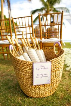 super thoughtful (and cute!) idea for guests