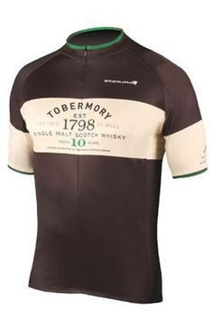 Endura Tobermory Whisky Jersey With Gift Box - A cycle jersey celebrating a single malt- this is definitely  Parrish Lantern