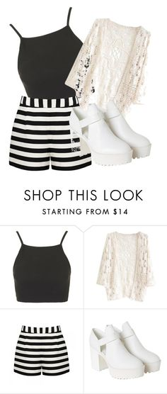 """Casual"" by rohimabegumx ❤ liked on Polyvore featuring Topshop, Forever New and Monki"