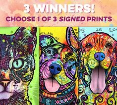 Win A Russo Rescue Art Print Signed by Dean Russo!