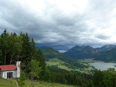 Wechselhaftes Wetter in Schliersee -- kein Grund nicht MTB zu fahren!