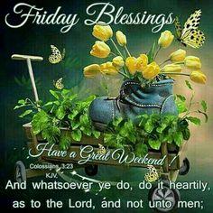 Friday Blessings!