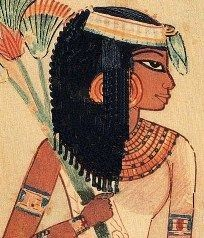 Woman from Ancient Egypt (2500 BCE) D