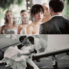 Fifty Shades Freed, Christian and Anastasia Wedding