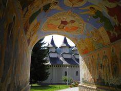 Manastirea Durau Painting, Beauty, Romania, Painting Art, Paintings, Painted Canvas, Beauty Illustration, Drawings