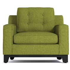 Apt2B Brentwood Chair Green Apple By ($1,088) ❤ liked on Polyvore featuring home and furniture