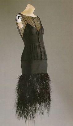 Chanel evening dress.