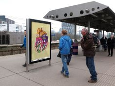Outdoor advertising campaign in Amsterdam, covering 300 locations and the Hutspot shop in Van Woustraat, Amsterdam