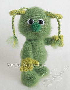 Mr. Ohoh amigurumi crochet pattern
