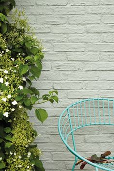 Our Masonry paint creates a long-lasting, matt finish on outdoor walls. Browse our exterior wall paint colours, including classic white and grey masonry paint. Little Greene Farbe, Little Greene Paint, Exterior Masonry Paint, Wall Exterior, Grey Masonry Paint, Masonry Paint Colours, Wall Paint Colors, Brick Wall Gardens, Brick Garden
