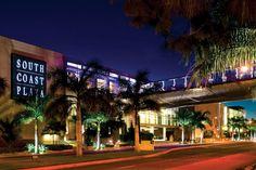 South Coast Plaza..the largest mall in California, its sales of over 1.5 billion are highest in the United States.