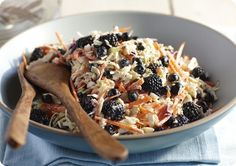 Driscoll's Berry Cole Slaw www.driscolls.com *side dish #Driscolls #Sweepstakes