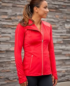 Lululemon Track Time Jacket. I'm not sure why I keep going back to look at this jacket, it's vaguely 80's...maybe it's because we just re-watched both Breakin' and Breakin' 2: Electric Boogaloo at home recently that I'm feeling more accepting. :)