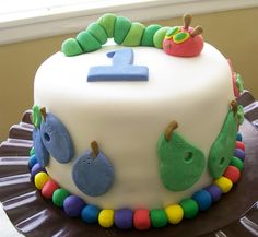 Baking with Blondie: The Very Hungry Caterpillar Birthday Party