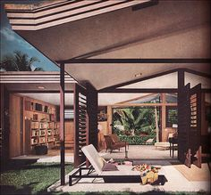 Mid-Century Modern (1956) Florida House by American Vintage Home, via Flickr