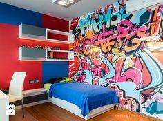 Pokój dziecka styl Nowoczesny - zdjęcie od TiM Grey Projektowanie Wnętrz