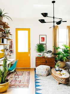 Tips on styling a small space @westelm