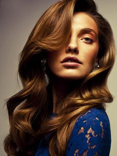 hair colors, sculpt wave, classic wave, curl, hairstyl, beauti, hair style, loos wave, light brown hair