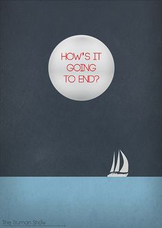 The Truman Show  Minimal Movie Poster by Phrame