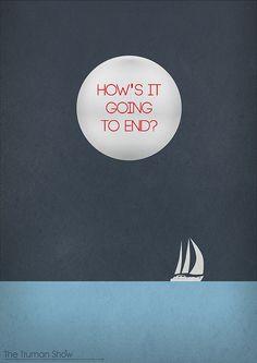 The Truman Show minimalist movie poster