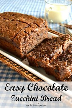 Easy Chocolate Bread Recipe