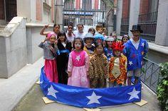 CAMPAMENTO DE VERANO: UN MUSEO LLENO DE VIAJES. Junio 2014. Viernes 27. La troupe del circo